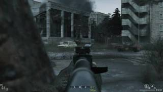 Call of Duty 4 - Missions 13 and 14: All Ghillied Up / One Shot, One Kill - Part 4/4 (HD)