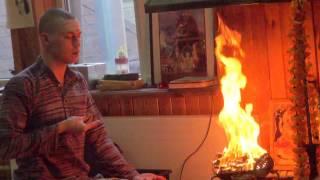 Navaratri pudza Babadzi centra (23.03.2012)