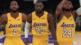 LeBron James , Kawhi Leonard & Paul George Go To The Lakers! | NBA 2K18 |