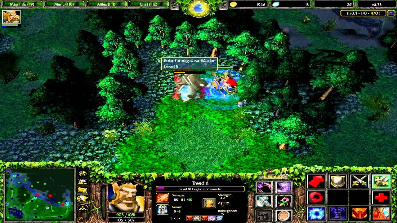 Let's Play DotA 6.73: ... Dota 1 Legion Commander