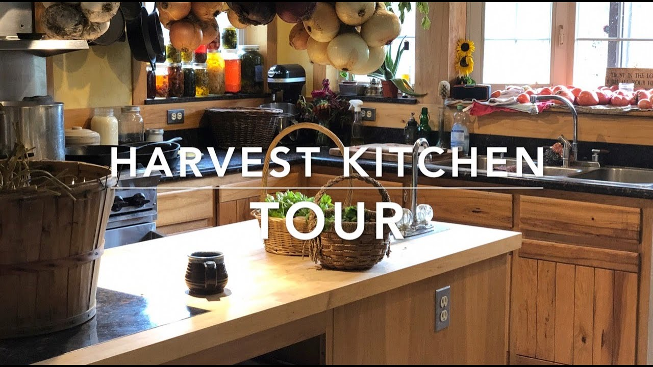 Kitchen Tour On A Crazy Harvest Day