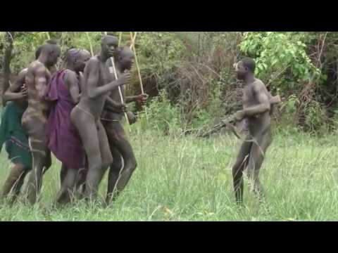 African Hamar Tribes life   Rituals of Hamar Tribe at Ethiop