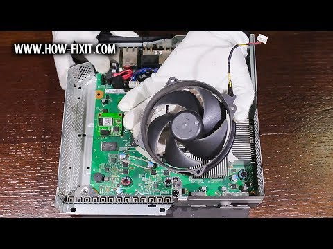 How to disasssembly and fan cleaning Xbox 360 Slim