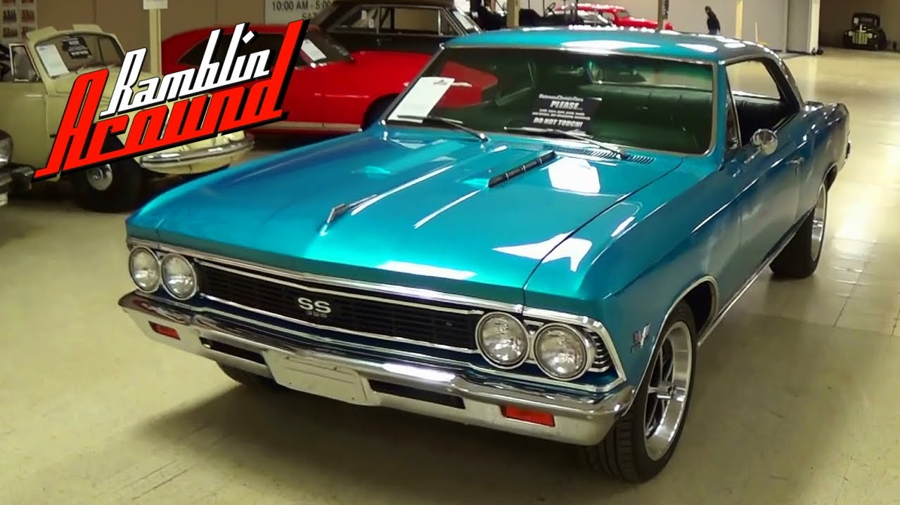 2013 Chevy Malibu For Sale >> 1966 Chevrolet Chevelle SS 396 Big Block Muscle Car - YouTube