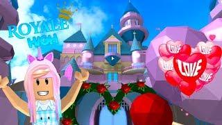 ROBLOX Royale High School! Valentines Day Dance Kunicorn Plays Roblox