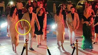 Priyanka gets Upset As Nick AVOIDS Holding Her Hand A Day After MARRIAGE @Reception In Delhi
