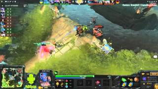 First blood Germany vs. Ukraine BO2 (National Dota 2 Cup)