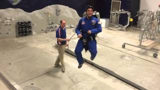 1/6 Gravity Chair at Space Camp