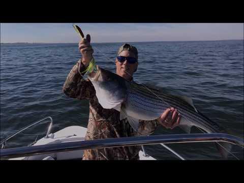 Raritan Bay, NJ Striper Fishing