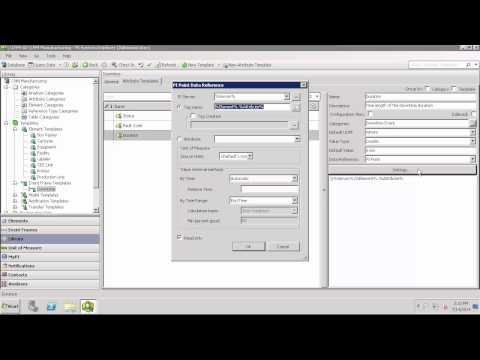 OSIsoft: How to Setup an Event Frame Template with PI AF [PI AF 2014-  v2.6.0.5843]