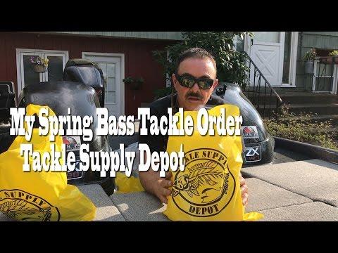 Spring Bass Fishing Tackle order  Tackle Supply Depot