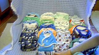Cloth diaper stash for my toddler