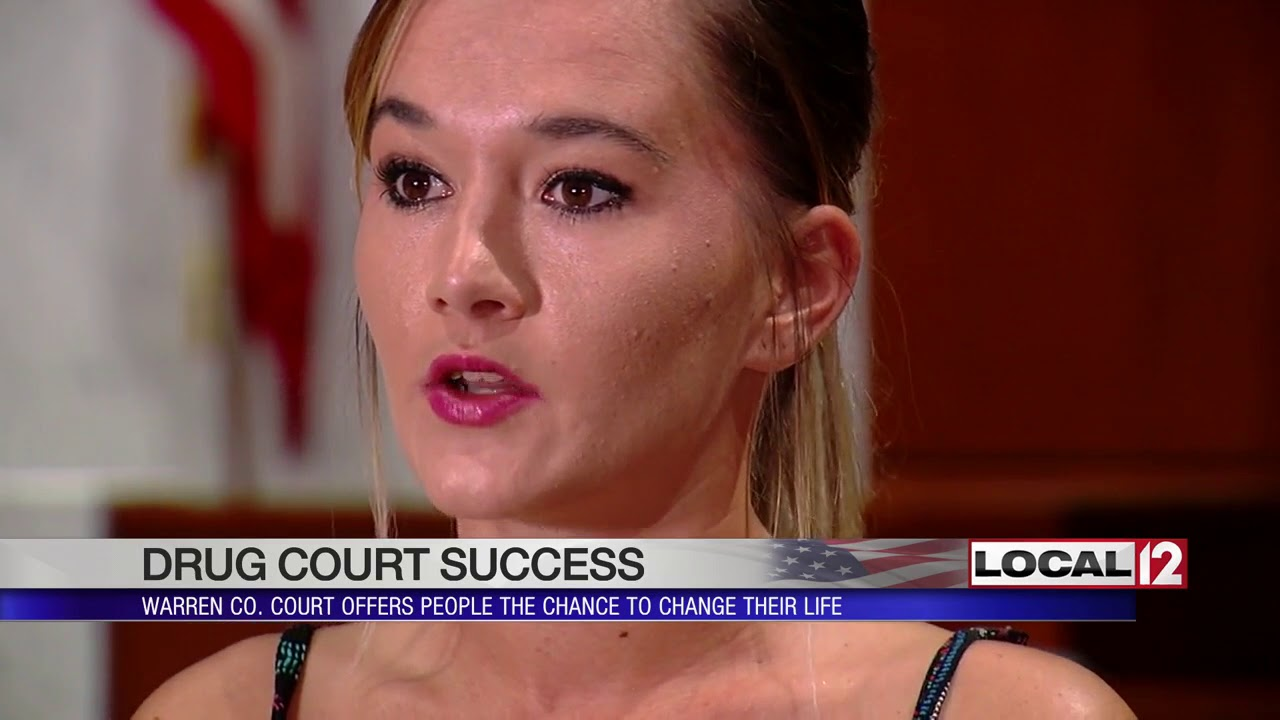 Warren Co  Drug Court offers people the chance to change their life