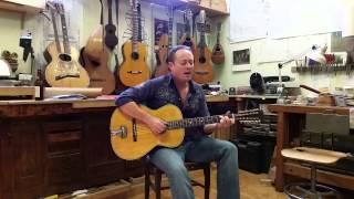 Joshua Jacobson Blues Around Midnight on a Fraulini, Geremia 12 string