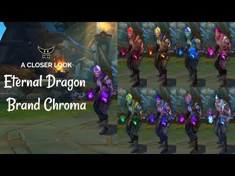Eternal Dragon Brand Chromas