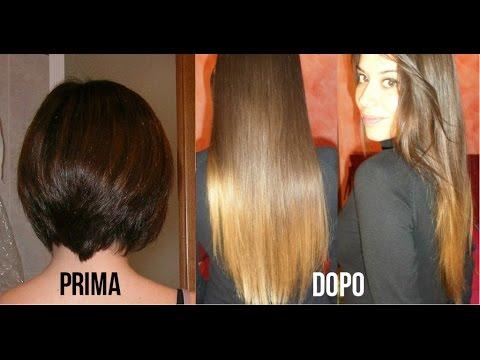 Come far crescere i capelli piu