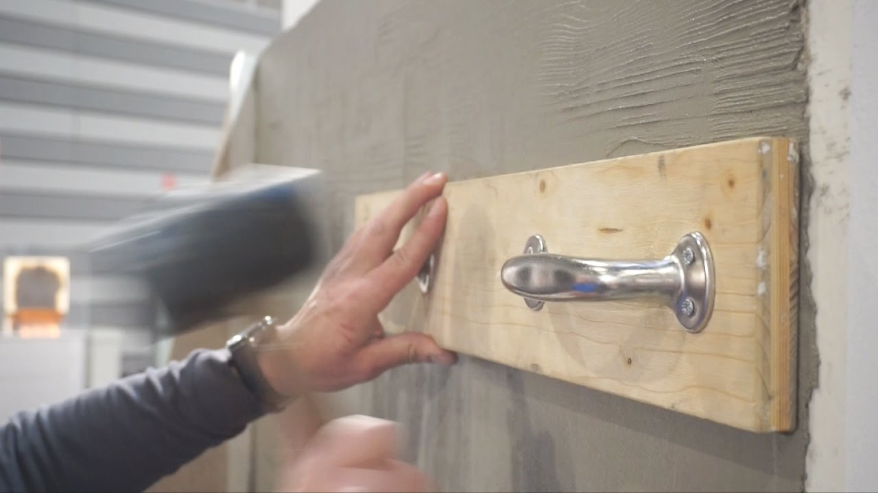 betonoptik mit putz herstellen - youtube
