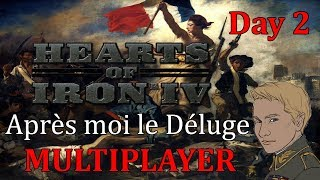 Hearts of Iron 4 MP - Apres Moi le Deluge mod hoi4 multiplayer - Day 2 of 2