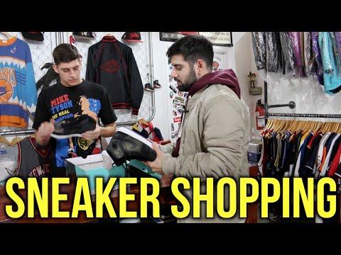 Qias Omar Goes Sneaker Shopping