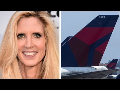 ANN COULTER'S DELTA FEUD AND TWITTER MELTDOWN | What's Trending Now!