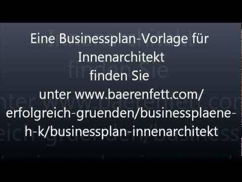 Innenarchitekt werden  Businessplan Innenarchitekt- Selbstständig nach Innenarchitekt ...