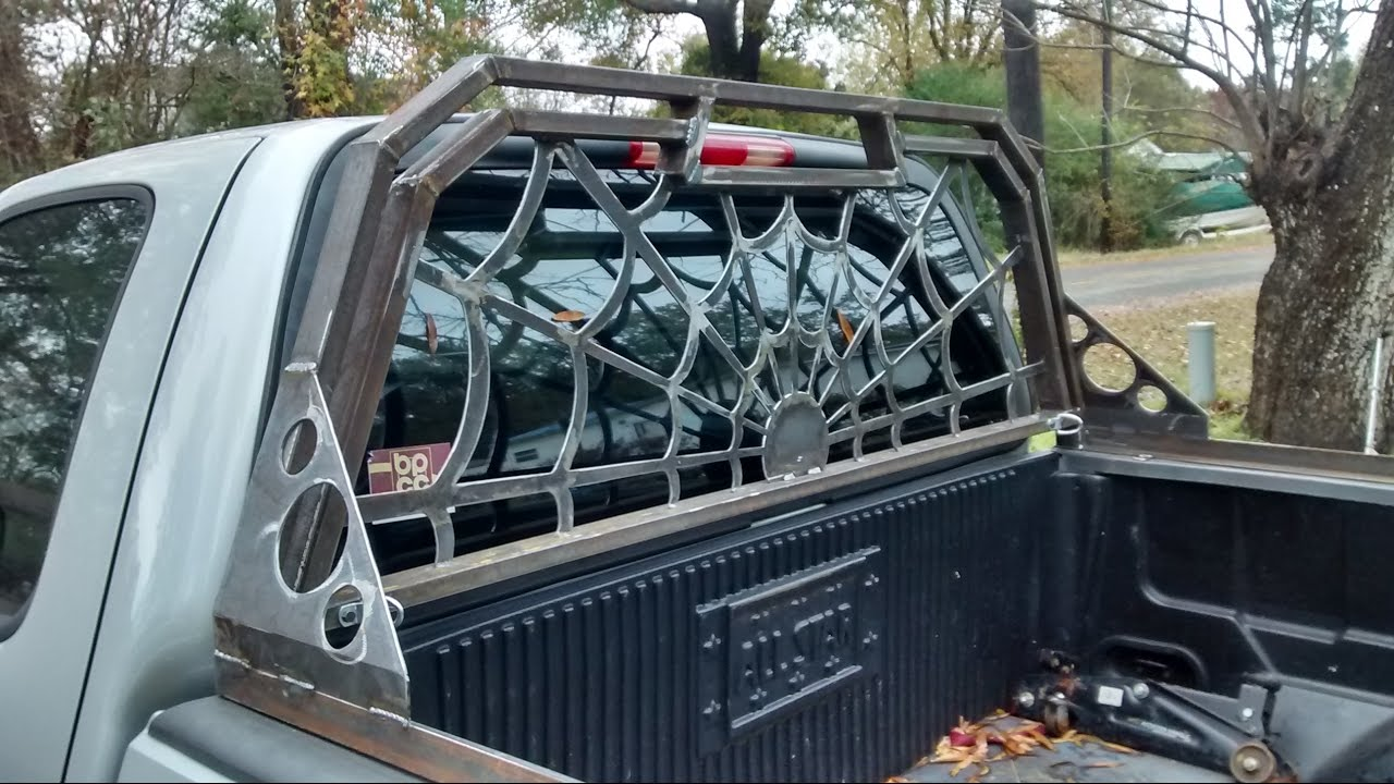 Headache rack for Ford f-150 - YouTube
