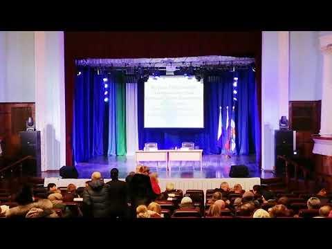 Советская Гавань. Встреча губернатора Фургала С.И. с жителями 07.02.2019 в ДК
