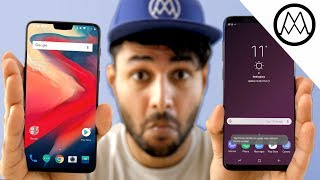 OnePlus 6 vs Samsung Galaxy S9 Plus