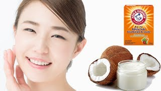 How To Apply Baking Soda & Coconut Oil For Skin Whitening at Home
