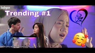 Reaksi Bule Mualaf nonton SABYAN-AISYAH | COVER | KEREN banget !!!