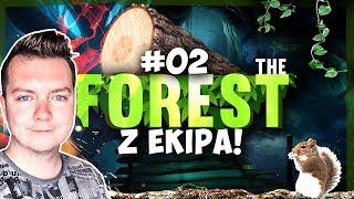 THE FOREST Z EKIPĄ #02 - REKIN MNIE ZAATAKOWAŁ! | SEZON 3 | Vertez, DonDrake, Swiatek