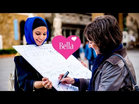 ITALIANS REACT TO A MUSLIM GIRL! #IslamophobiaExperiment