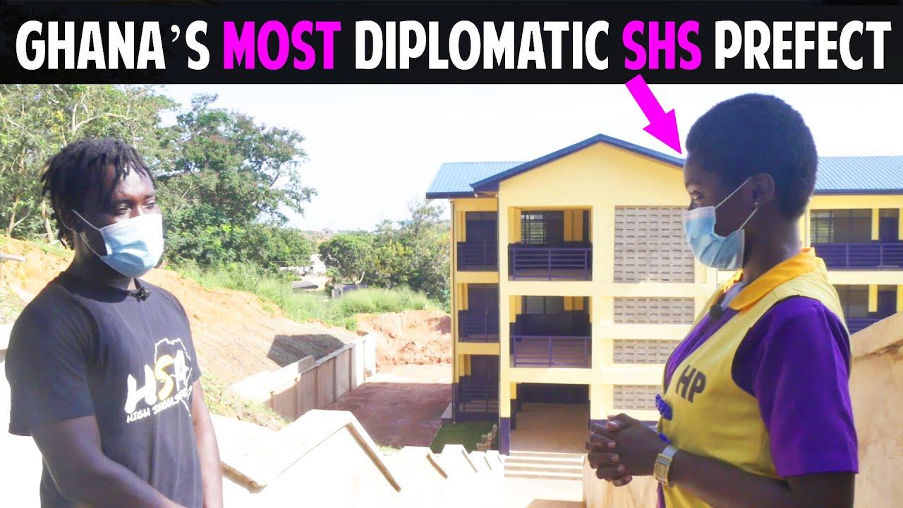 Download Ghana's Most Diplomatic Senior High School Prefect.