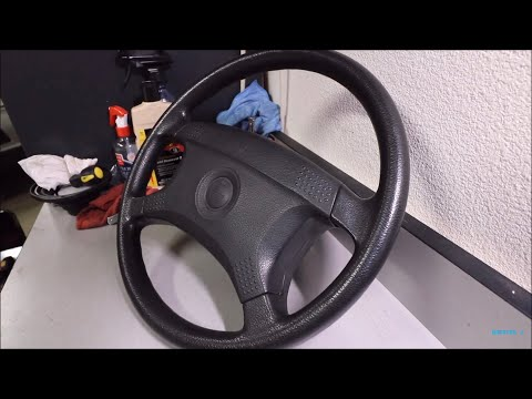 How to Remove E30 Airbag Steering Wheel!