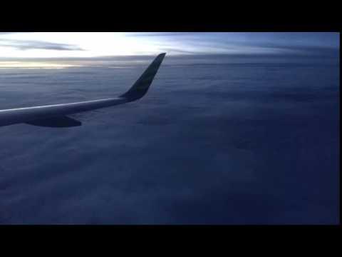 Footage Celebes Sea on Flight
