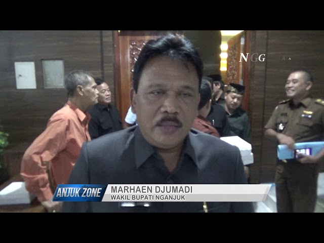 Rapat Paripurna RPJMD DPRD kab Nganjuk | Anjukzone