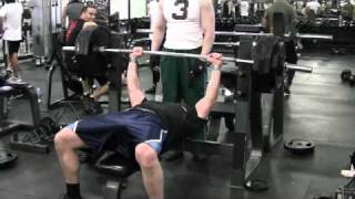 405 lbs BENCH PRESS THE RETARDED WAY