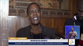Betty Nambooze Asuubizza Okulemera Ku Nsonga Y' Okukukusa Abantu