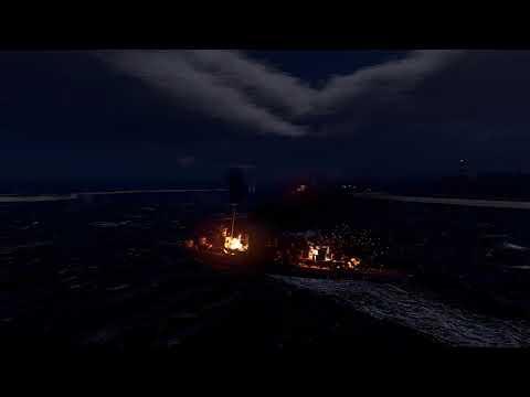 War thunder Naval Ships Testing  Cinematic view