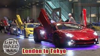 Japan's Insane LED Lamborghinis INVADE Gumball 3000 Steve