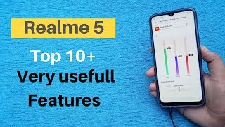 Realme 5 top 10 hidden Very Usefull Freatures In hindi/2019