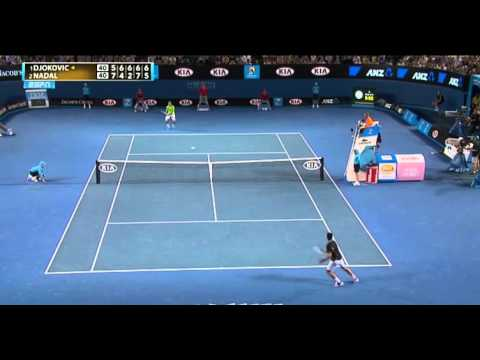 Djokovic Vs. Nadal Australian Open Final - LAST SET!
