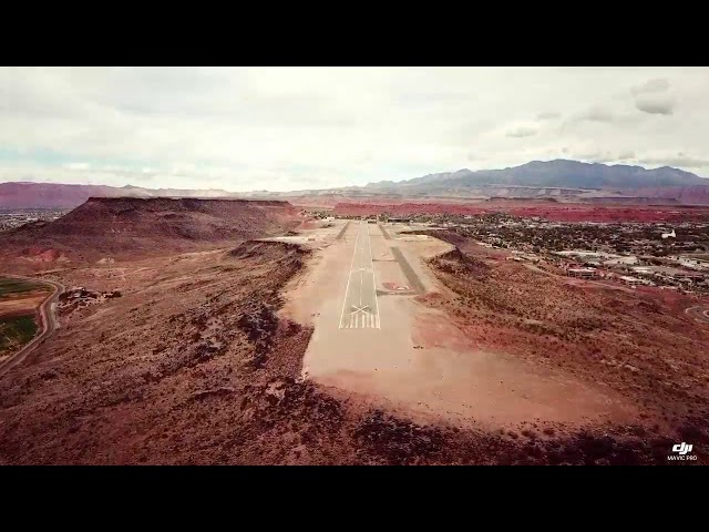 St george airport.