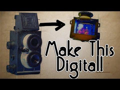 DIY Vintage Raspberry Pi Camera - Part 1