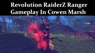 Revolution RaiderZ Ranger Gameplay In Cowen Marsh