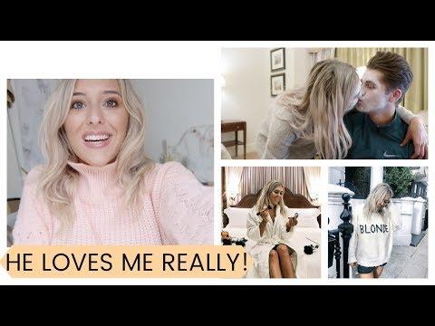 HE LOVES ME REALLY, ORGANISING MY LIFE, JACKET OF MY DREAMS, VERY SPECIAL SLEEPOVER  | Weekly Vlog