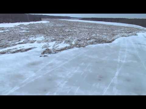 Ice Surge - Saskatchewan Water Security Agency