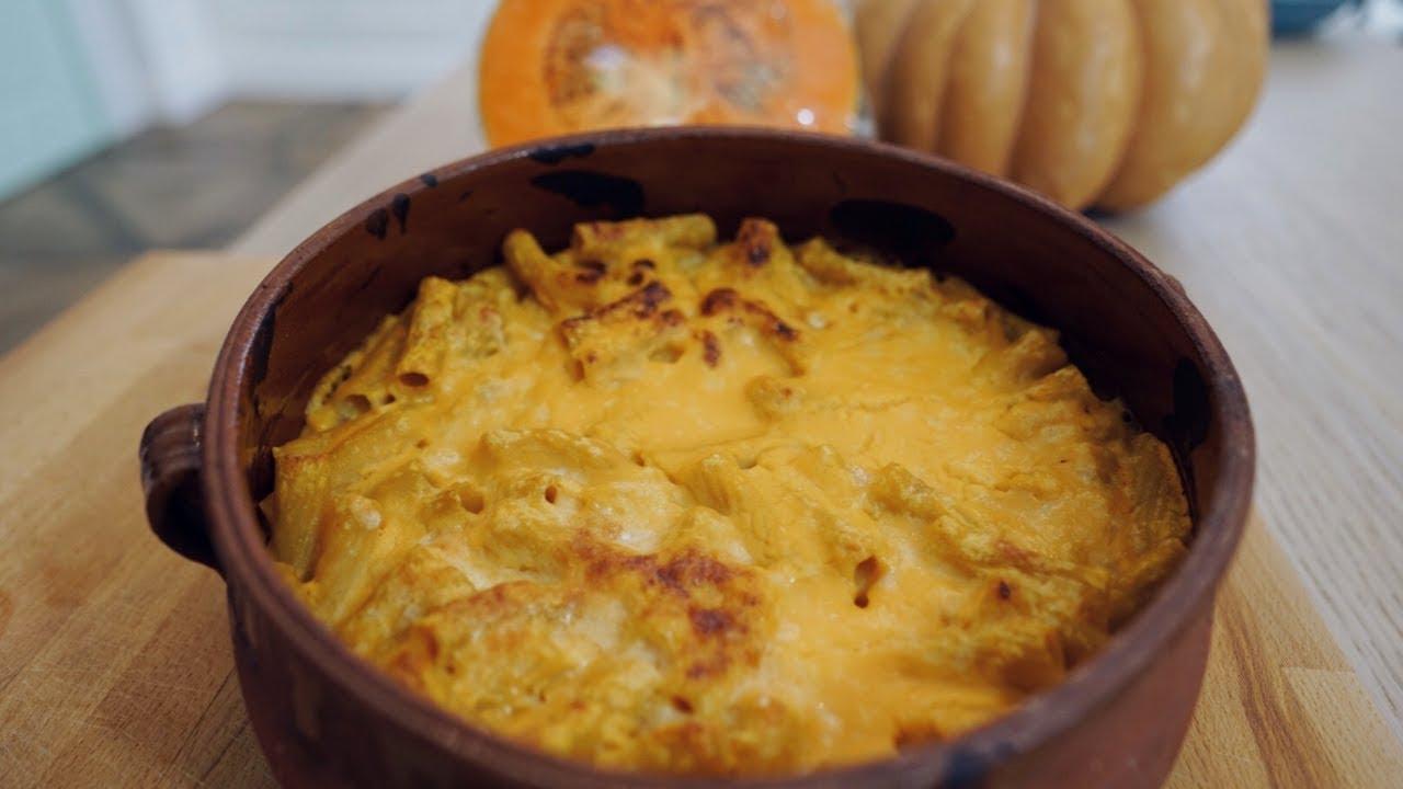 Pasta con la zucca al forno | Ricetta autunnale sfiziosa
