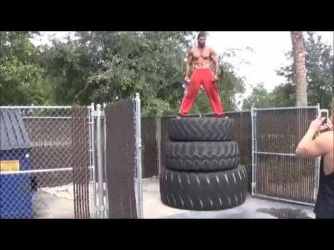 Muscle Link Flips 1,000lbs Tire 21 Times in 10 Minutes @LIFTMOREFITNESS!
