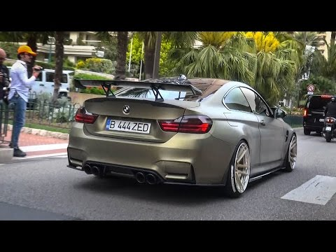 BMW M4 | Z-Performance - Details & Acceleration Sound @ Monaco Top Marques 2016
